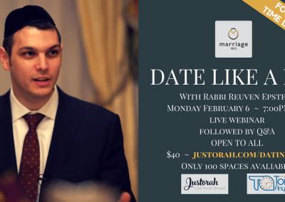 Date Like a Pro Live Webinar